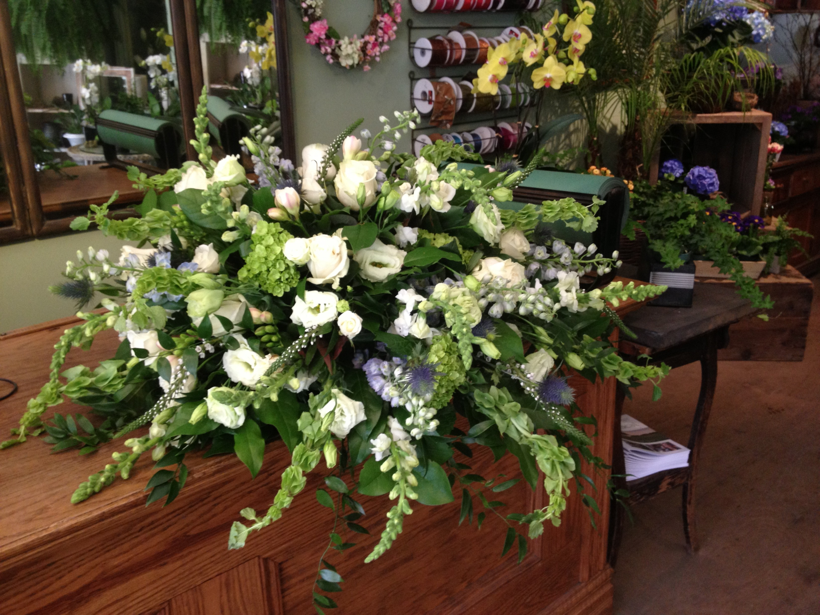 Sympathy east of eliza we believe funeral flowers should be beautiful not harsh or funereal izmirmasajfo